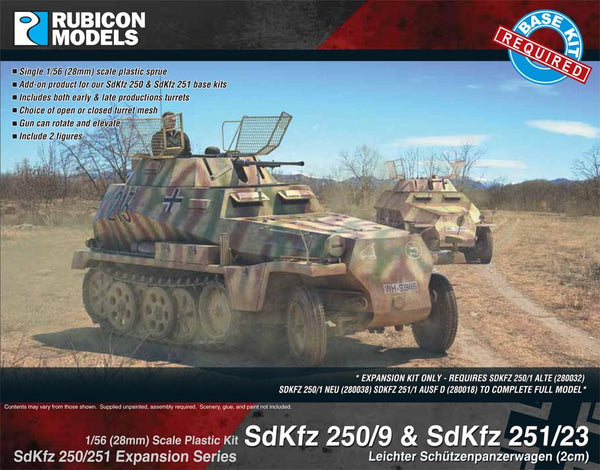 280048 - SdKfz 250/251 Expansion Set - SdKfz 250/9 & 251/23
