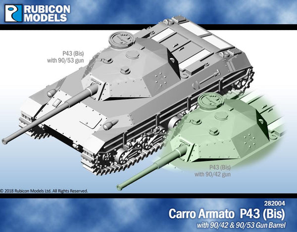282004 - Carro Armato P43 (Bis)- Resin