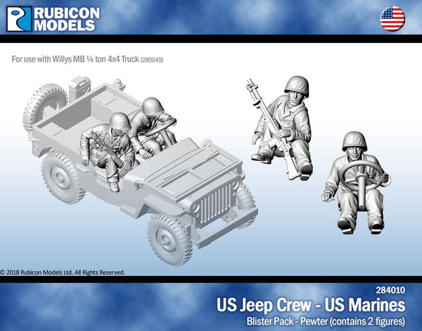 284010 - US Jeep Crew - US Marine- Pewter