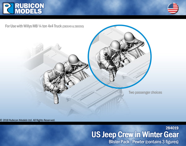 284019 - US Jeep Crew in Winter Gear