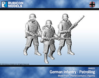 284022 - German Infantry - Patrolling - Pewter