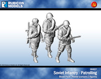 284027 - Soviet Infantry - Patrolling - Pewter