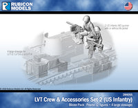 284055 - LVT Crew & Accessories Set 2 - US Infantry