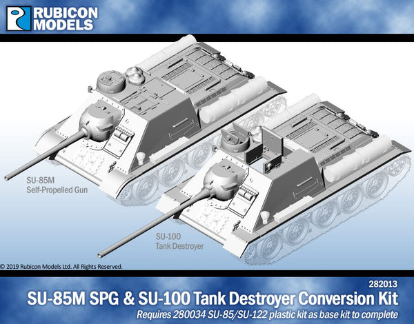 282013 - SU-85 SPG/SU-100 Tank destroyer Conversion Kit
