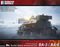 280084 - BA-3 / BA-6 Heavy Armoured Car