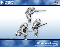 284078 - US Marines Running - Pewter