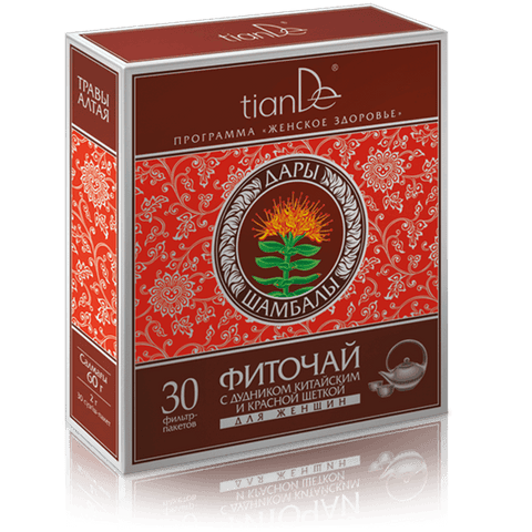 Tiande Phytotea with Angelica Sinensis and Rhodiola for Women Tea, 30 x 2g