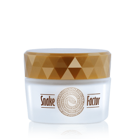 "Face cream suitable elasticity and wrinkle correction ""Snake Factor"""