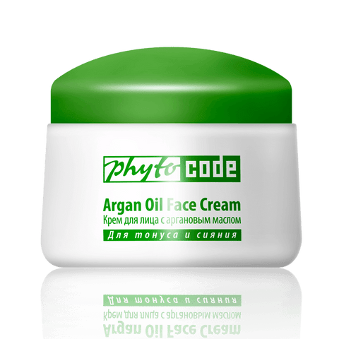 Face cream with argan oil