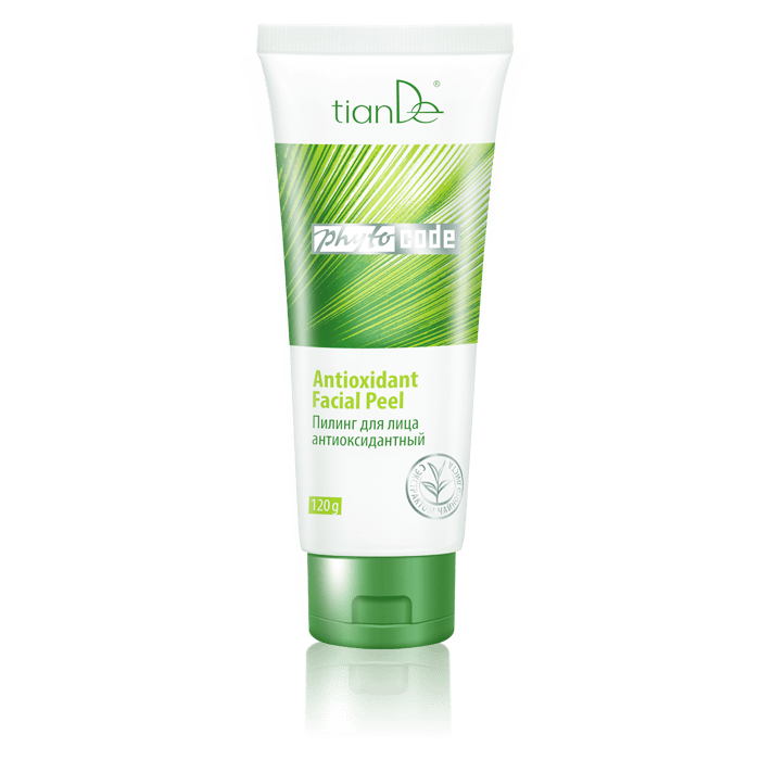 Anti-oxidant facial exfoliant peel