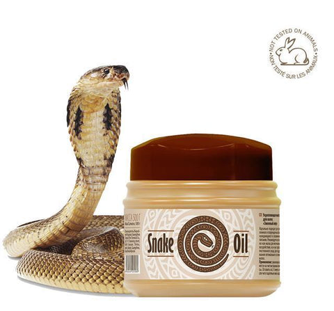 Snake Oil Strengthening Hair Mask