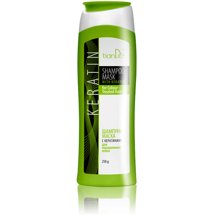 Shampoo mask with keratin for Colour-Treated Hair