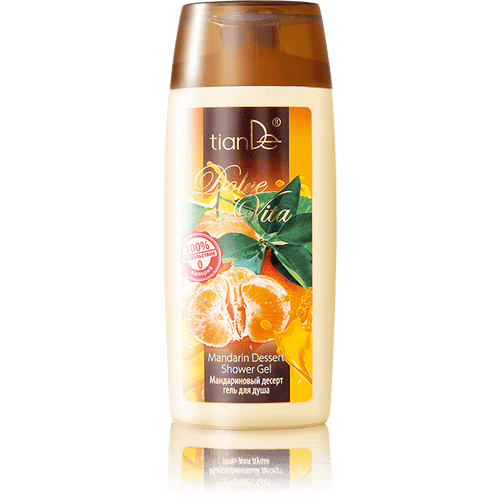 TianDe Mandarin Dessert Shower Gel