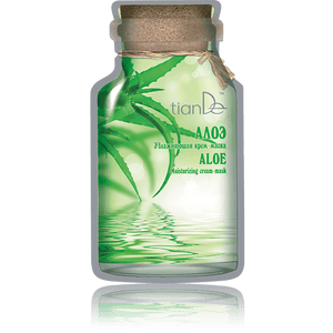 Aloe Moisturizing Cream Facial Mask