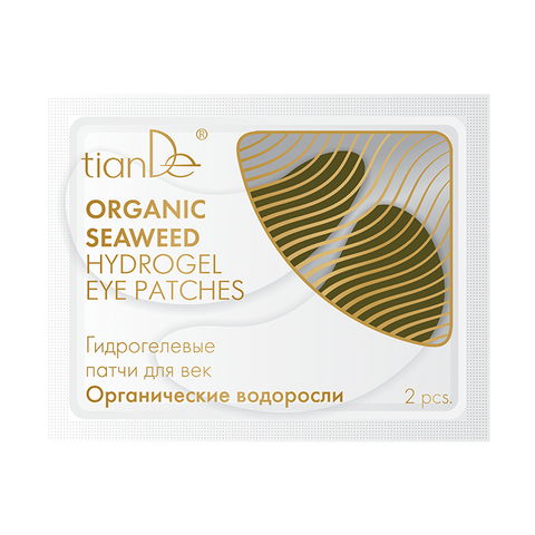 Organic Seaweed Hydrogel Eye Patches