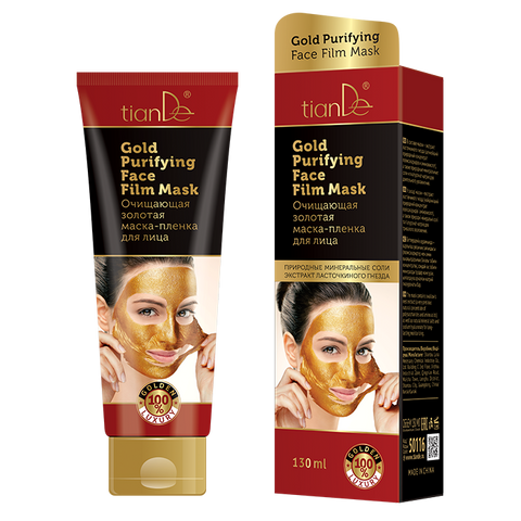 Gold Purifying Face Film Mask, 130ml