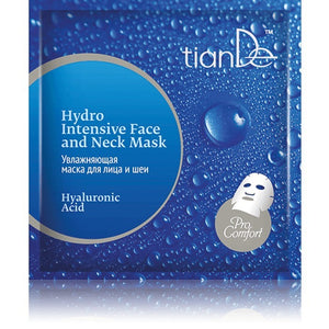 Tiande Hyaluronic Acid Hydro Intensive Face and Neck Mask 1 pc