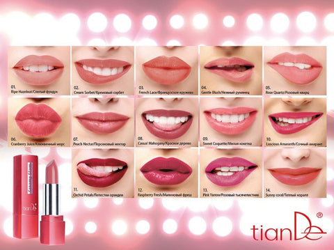 TianDe Natural Glamour Lipstick