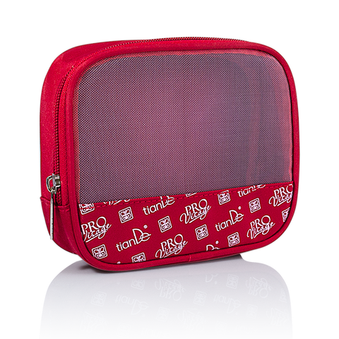 TianDe Cosmetic Bag Red 1pc
