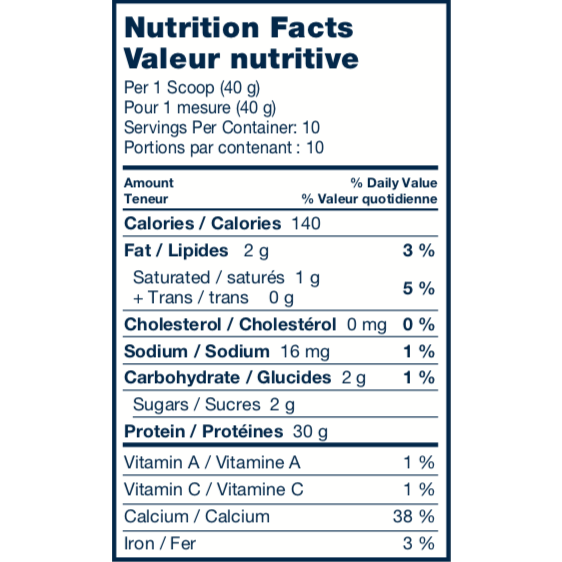 Protein Pudding Mix - 30g Protein per Serving