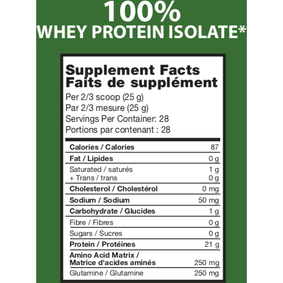 Limited Edition Flavour: 100% Whey Protein Isolate - Europe's Top Isolate Formula