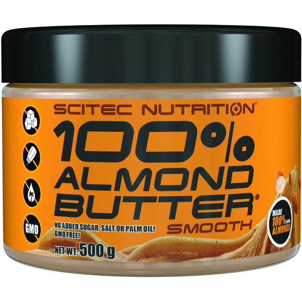 100% Almond Butter - Smooth (All Natural)