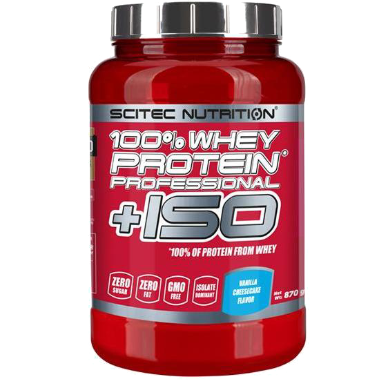 100% Whey Protein Professional + ISO - Euro Whey & Isolate Blend