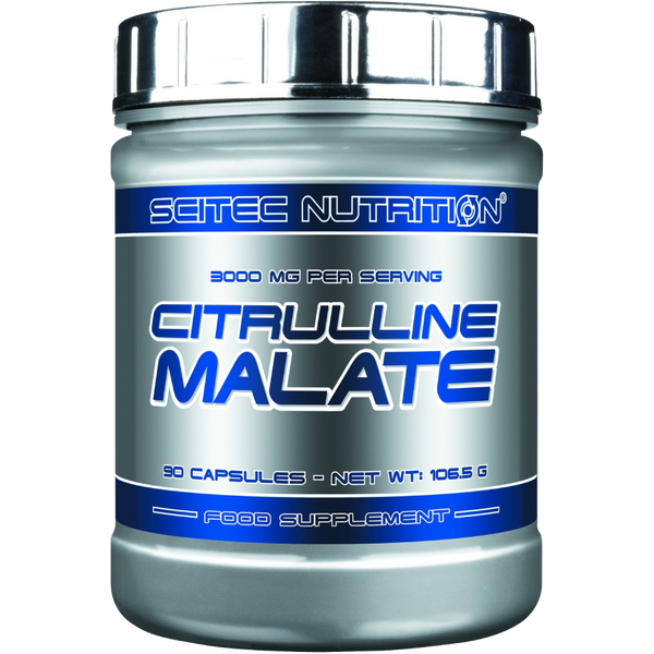 Citrulline Malate Capsules - 3,000 mg per Serving