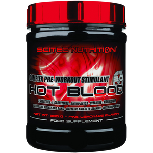 Hot Blood 3.0 - Complex Pre-workout Stimulant