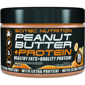 100% Peanut Butter + Protein Spread - Smooth (All Natural)