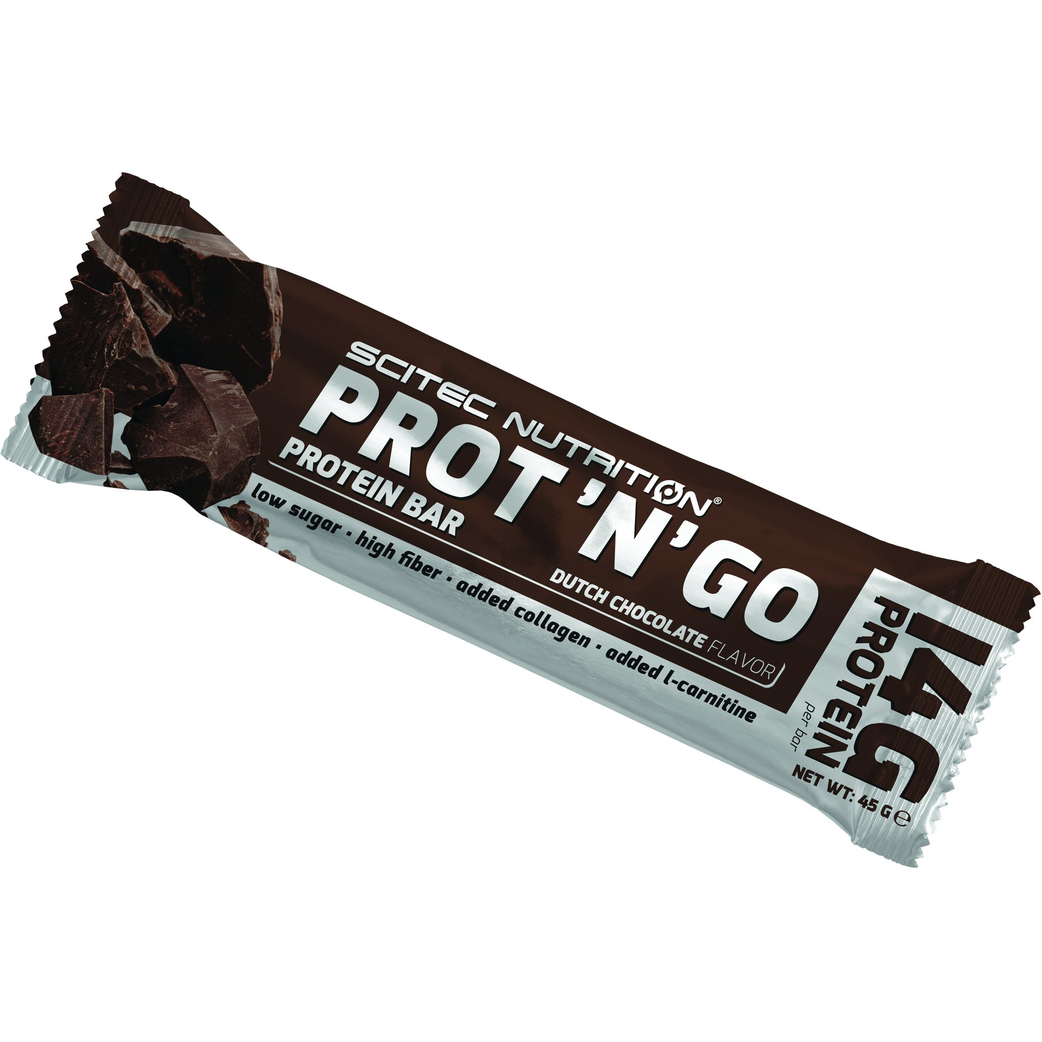 Brand New: PROT'N'GO Protein Bar 45G - With Collagen