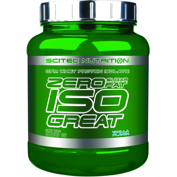 Premium ISO GREAT - ZERO FAT ZERO SUGAR (Lactose Free) - 40g Protein per Full Scoop!