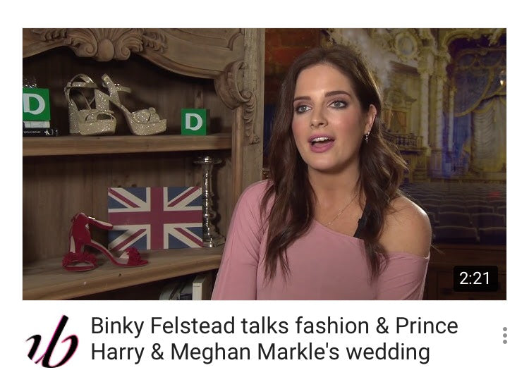 Binky Felstead video interview on all things fashion and the Royal Wedding