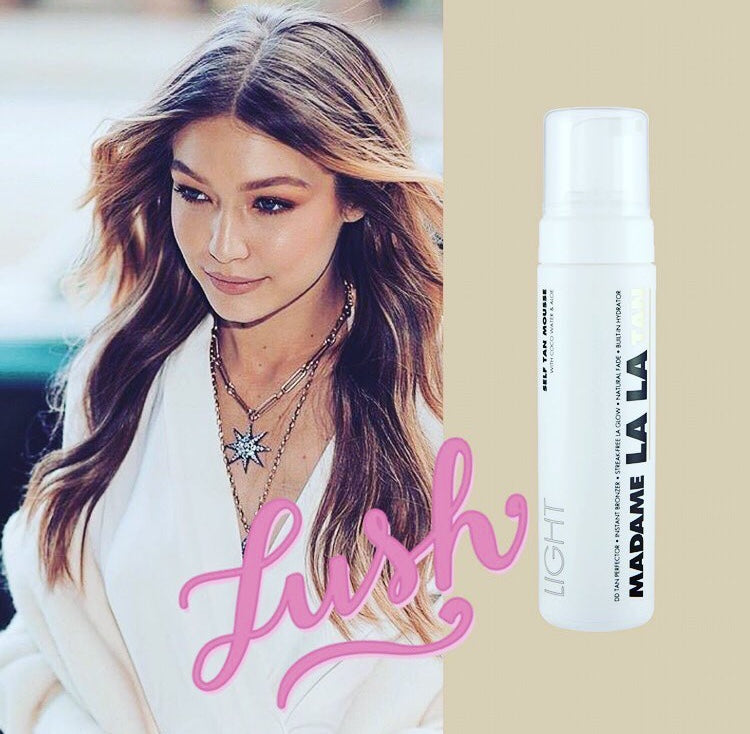 Gigi Hadid is a fan of the all-over LA Glow