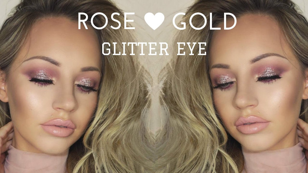 Every girls loves a little sparkle - Glitter Eyes Makeup Tutorial Video
