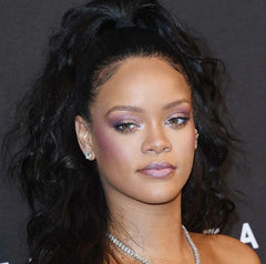 Rihanna Purple Makeup
