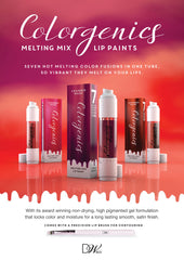 Dreamweave Colorgenics - Melting Mix Lip Paints - Coded Prisim - Chambermade