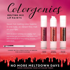 Dreamweave Colorgenics - Melting Mix Lip Paints - Double Rainbow -Chambermade