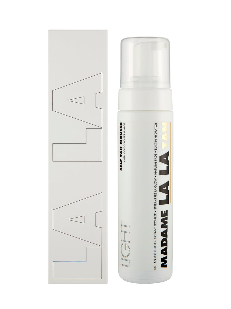 Madame La La - La La Tan LIGHT - Self Tan Mouse 200ml