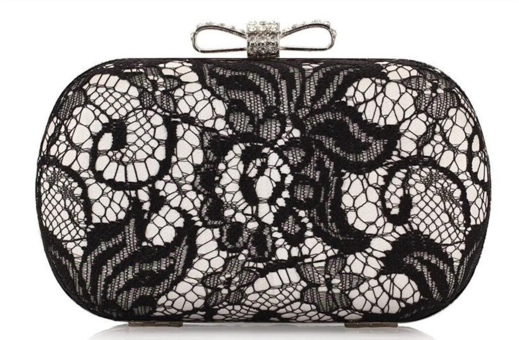 Luxurious Lace Evening Clutch Bag
