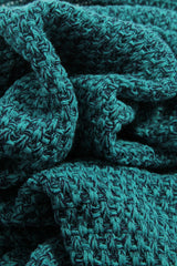SPLASH Teal Knitted Mermaid Blanket