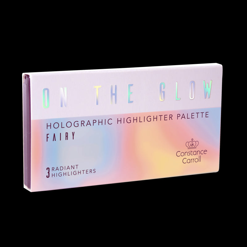 Constance Carroll On The Glow Holographic Highlighter Palette (01 Fairy)