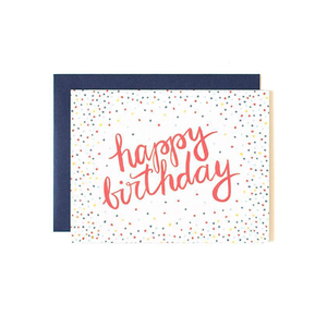 Greeting Card Birthday Confetti