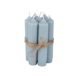 Short Candle Light Blue