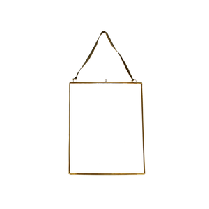 Frame Brass Glass XL