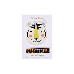 Fabric Patches Easy Tiger