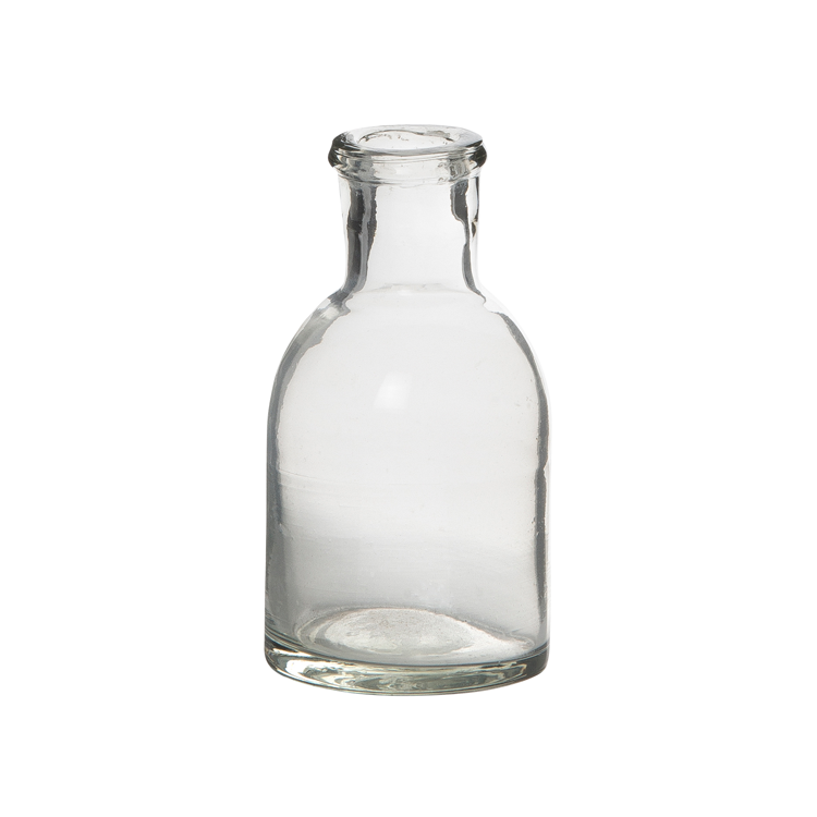 Pharmacy Bottle Clear Glass