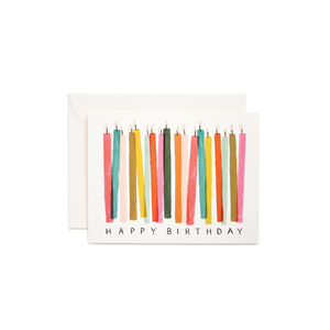 Greeting Card Birthday Candles