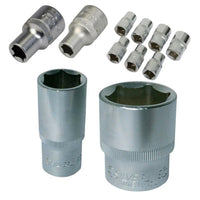 "1/2"" Drive Sockets, Metric Range From 8mm to 32mm Car, Automotive, Motorsport[21mm]"