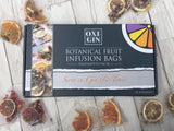 OXI-GIN Gift Box 5 Botanical Fruit Infusions - 2 x Bags of Each Flavour